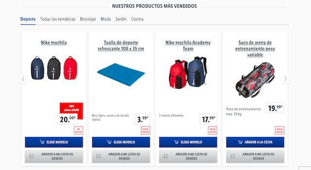 Lidl vende productos de Nike y Adidas para la vuelta al cole