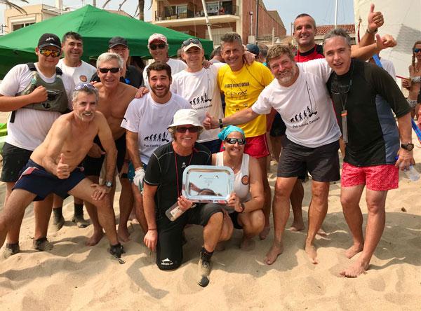 Calafell recupera la placa de vencedora del Desafío con Sant Salvador