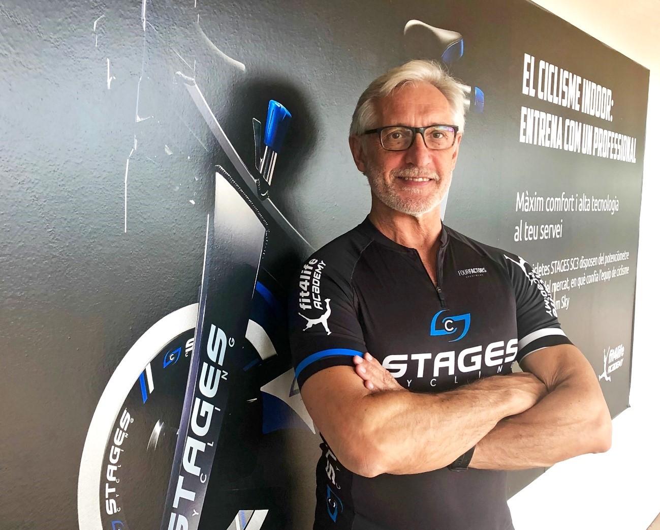 Jesús Gallego, pionero del ciclo indoor en España, se despide de Fit4Life Academy