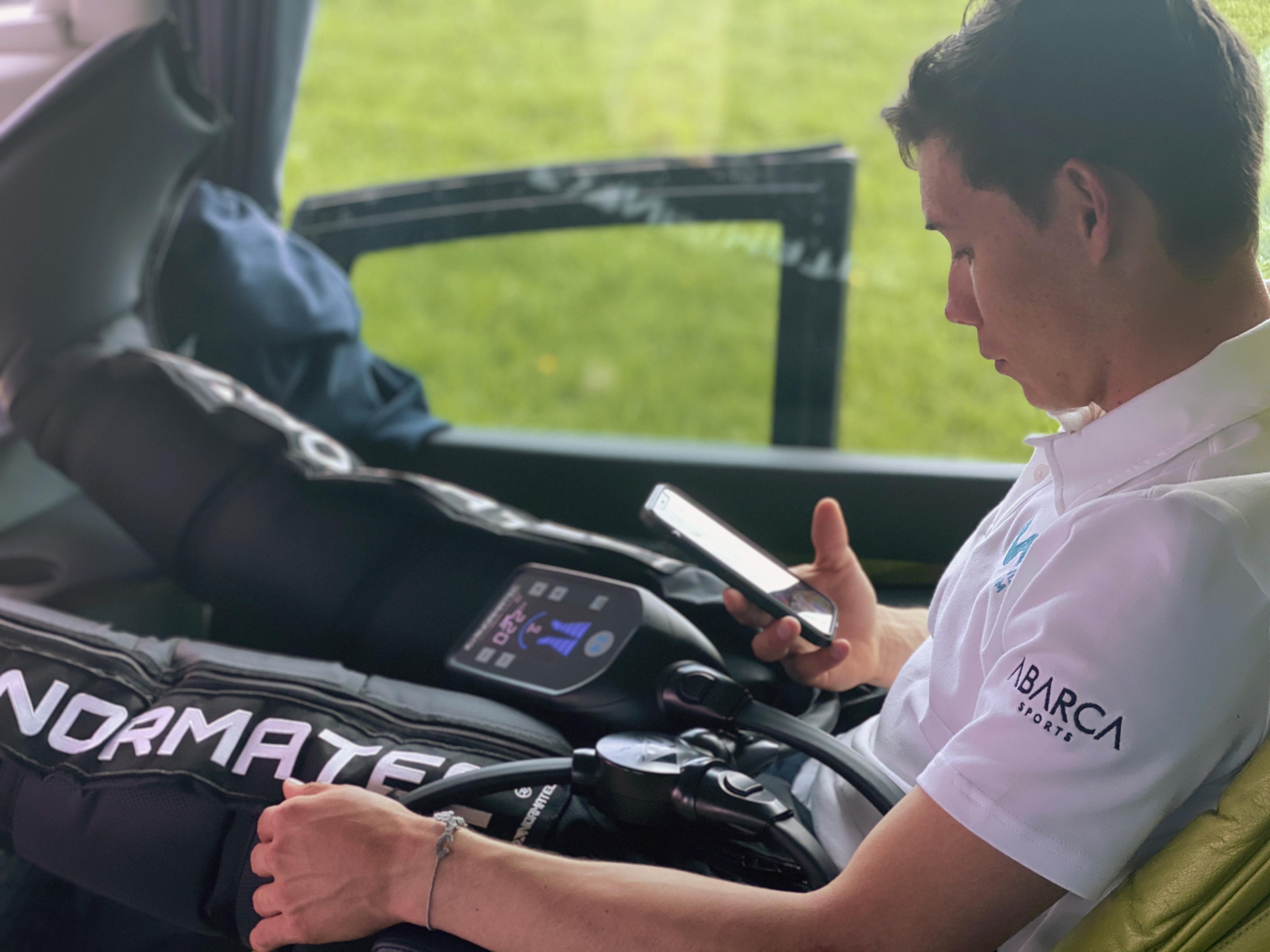 Hyperice expande su tecnología por 13 equipos de La Vuelta