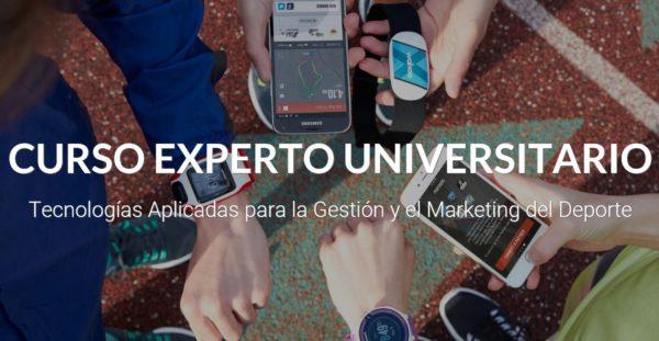 Nueva edición del Curso de Experto en Tecnologías y Márketing del Deporte