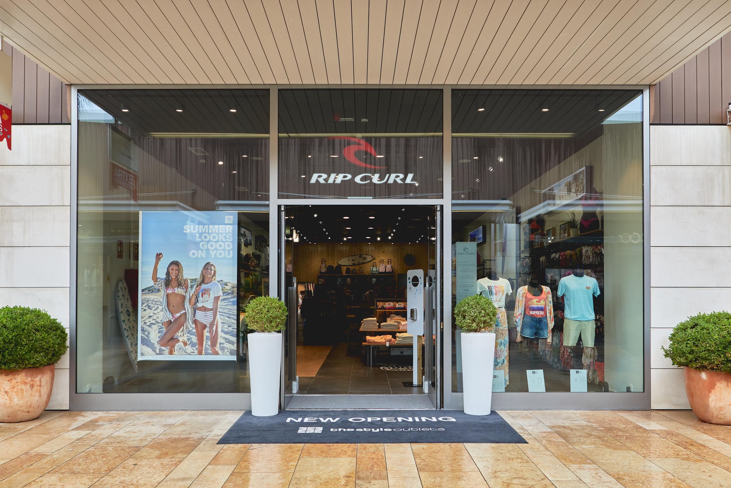 Rip Curl abre en Viladecans su primer outlet en España