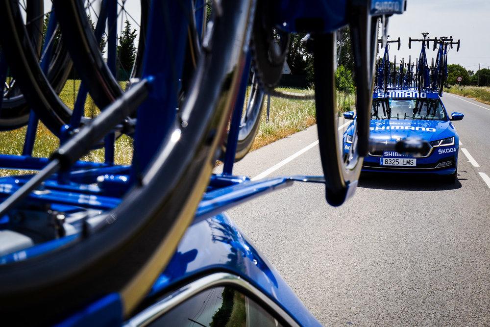 Shimano ofrece el servicio de asistencia neutra en La Vuelta a España