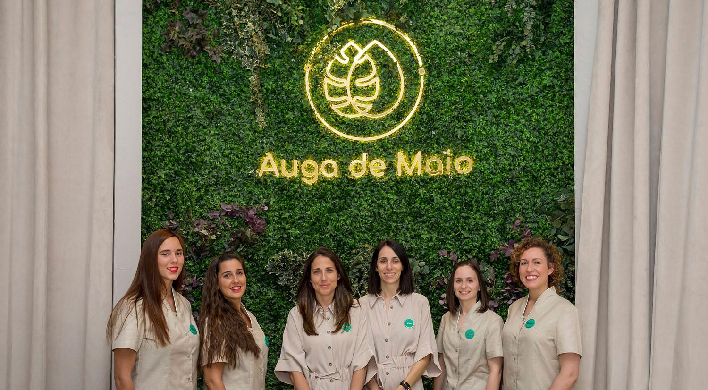 Abre el centro de spa urbano Auga de Maio en Vigo