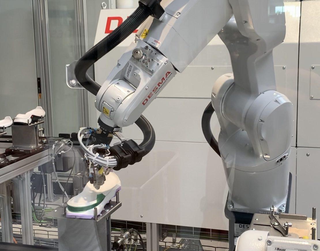 Babolat se asocia con la primera fábrica automatizada de calzado en Francia