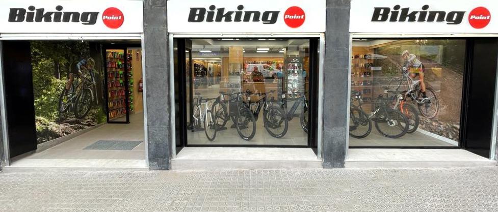 Biking Point abre su tercera tienda Barcelona
