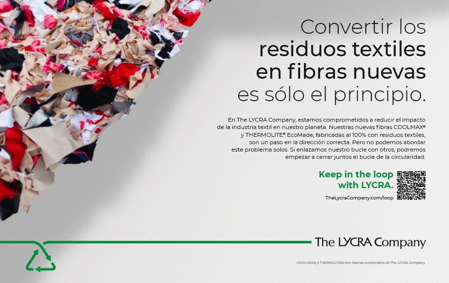The Lycra Company lanza una campaña sobre iniciativas de economía circular
