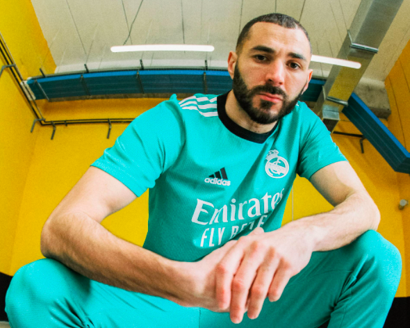 Adidas representa el kilómetro cero en la tercera equipación del Real Madrid