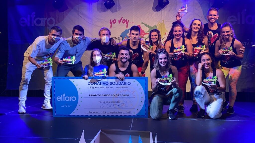 El evento Zumbando 2021 recauda 6.000 euros contra el cáncer infantil