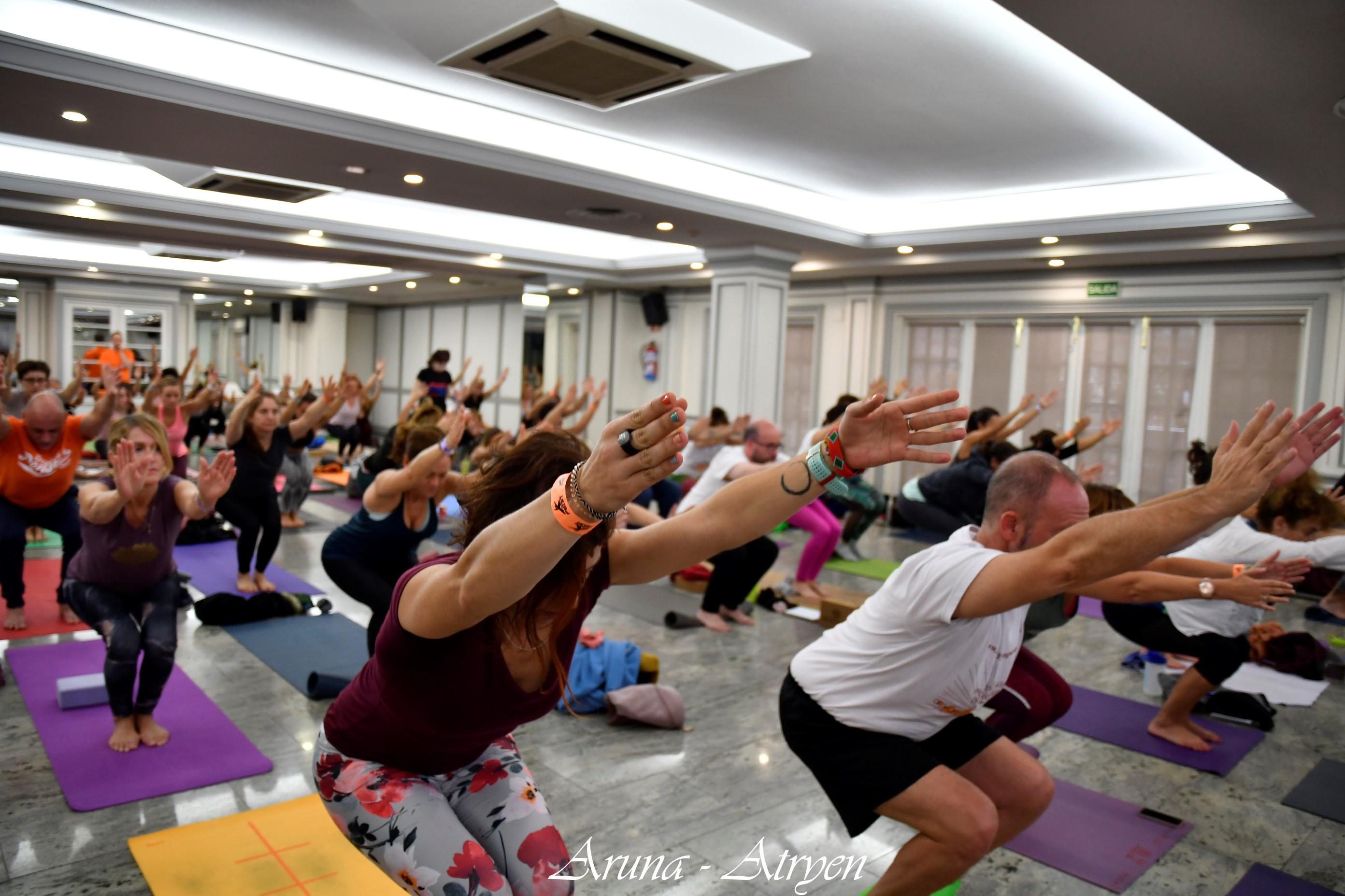 FEDA Madrid vuelve a organizar el Yoga Congress de forma presencial