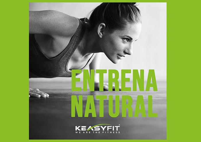 Keasy Fit lanza una campaña sobre los beneficios del entrenamiento natural