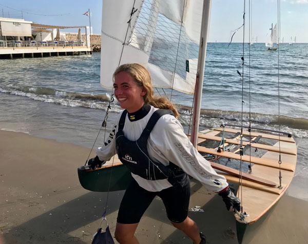 La organización se 'luce' en el Campeonato de España 2021 de patín a vela junior