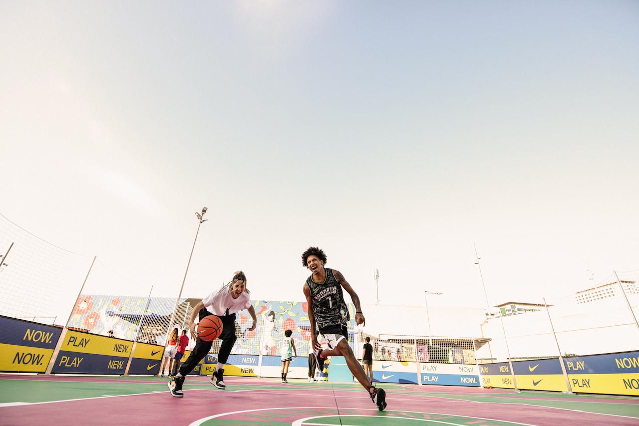 Nike impulsa un espacio de deportes al aire libre en Barcelona
