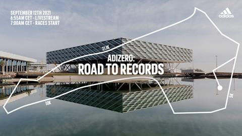 Adidas organiza un evento para que sus atletas rompan los récords de varias distancias