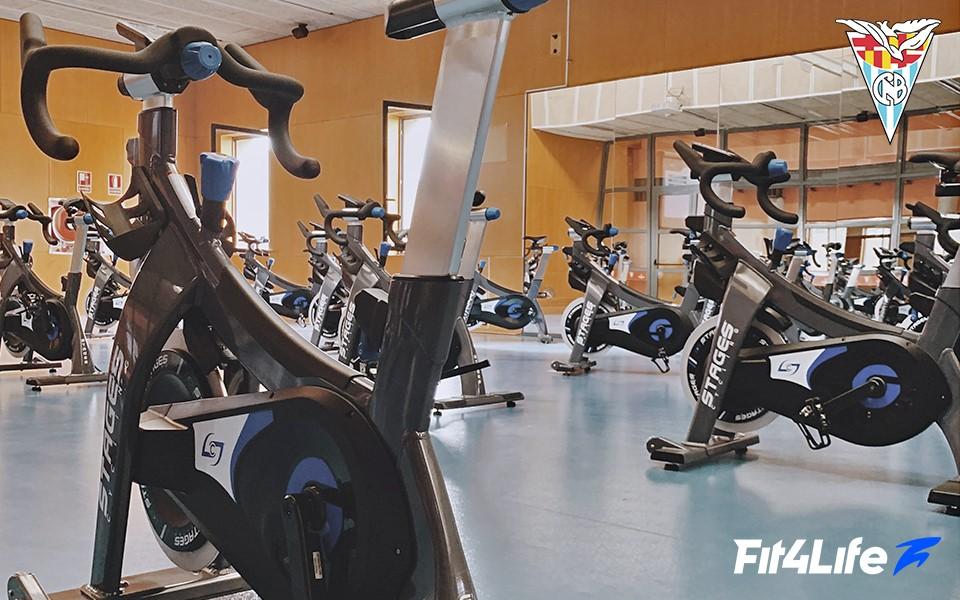 El Club Natació Barcelona renueva su sala de ciclo indoor con Fit4Life