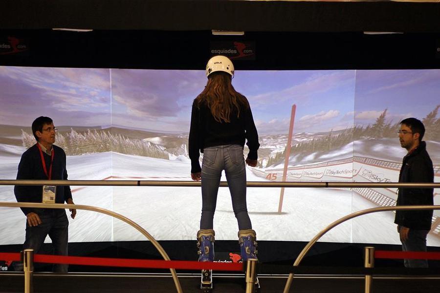 Vallnord y Esquiades.com ponen en marcha un simulador de esquí