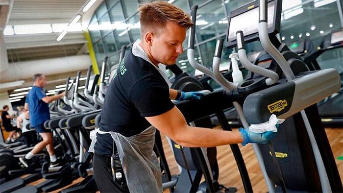Baja un 60% la incidencia del Covid en los gimnasios ingleses