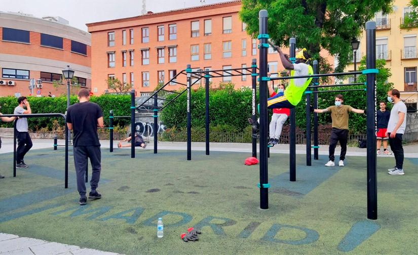 Madrid invierte 1,6 millones de euros en 80 instalaciones de fitness outdoor