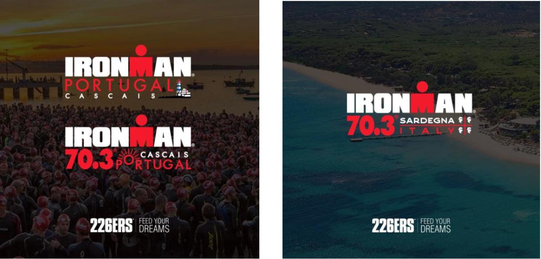 226ERS provee de barritas a catorce pruebas de triatlón en el sur de Europa