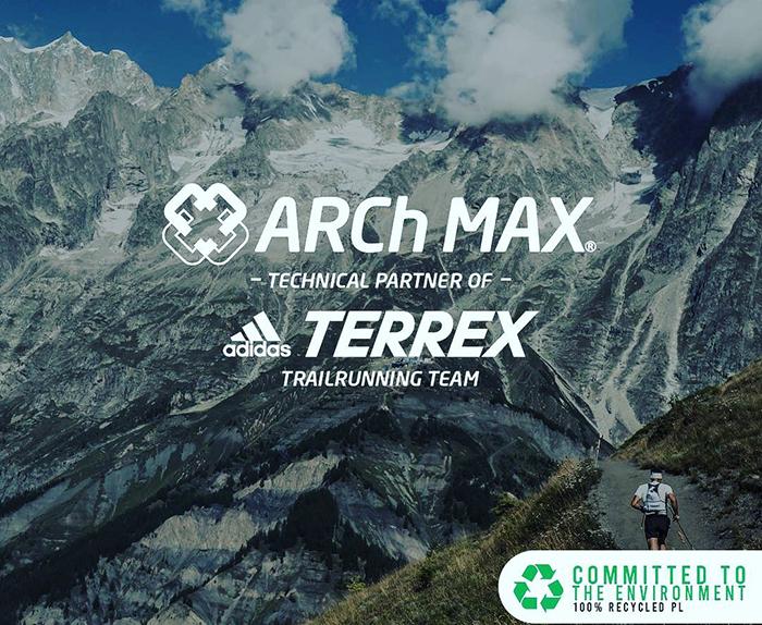 Arch Max equipa con su nueva mochila de hidratación a los corredores del Adidas Terrex Team