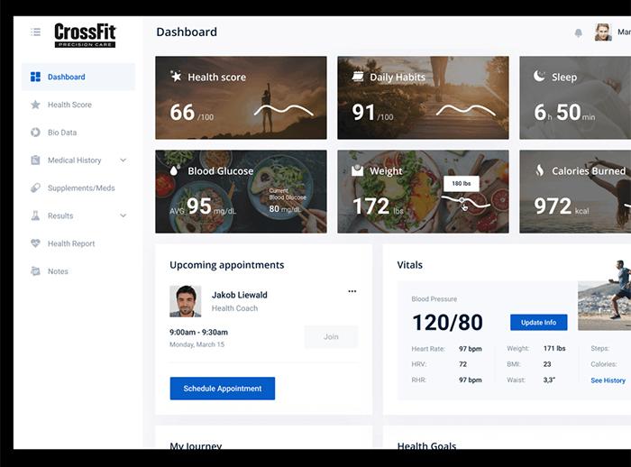CrossFit lanza un servicio de atención médica personalizada