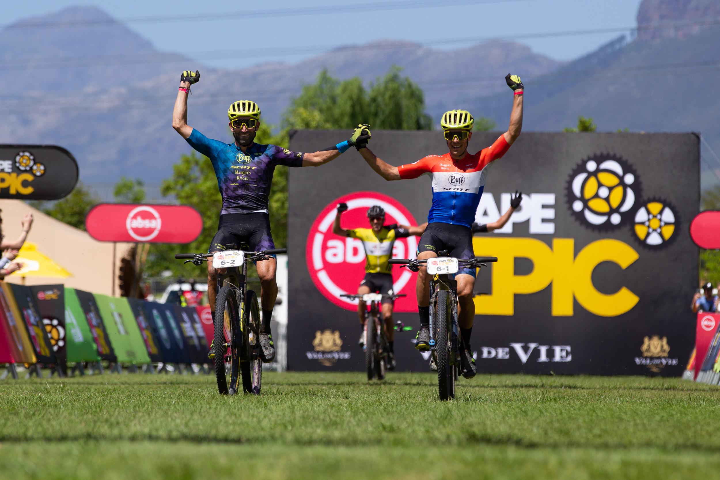 El Buff Scott MTB Team, tercero en la Cape Epic
