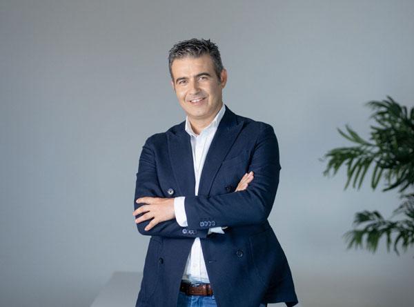 Egym ficha a César Gomez Márquez como responsable de ventas de la zona Sur
