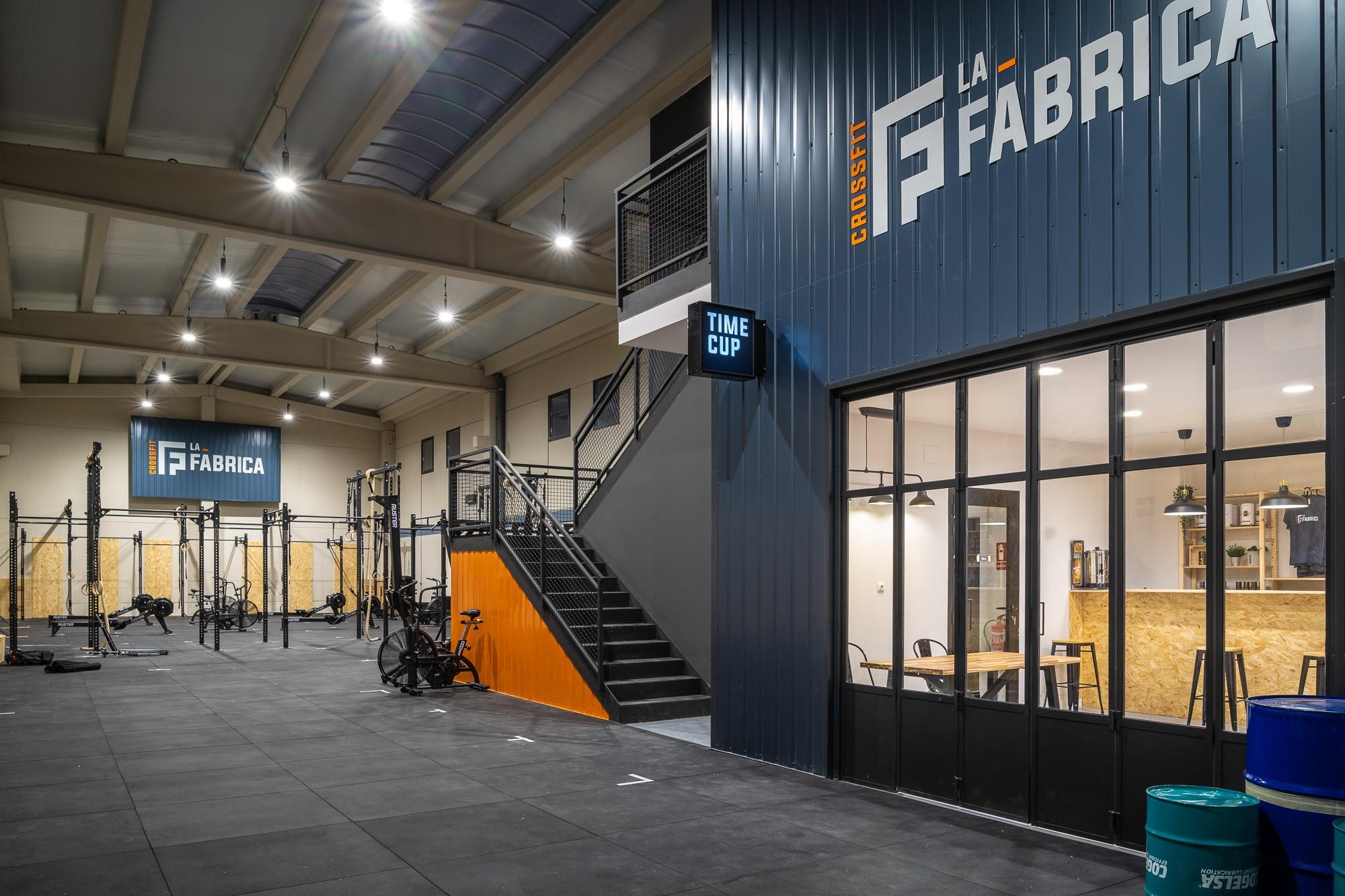 CrossFit La Fábrica prepara su inauguración