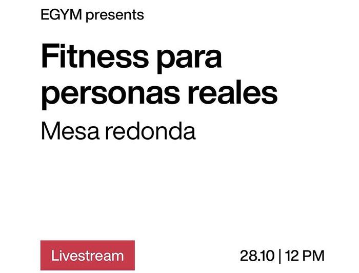 Egym organiza un webinar para entender al cliente real de fitness
