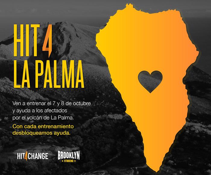 Brooklyn Fitboxing lanza un evento solidario en favor a La Palma