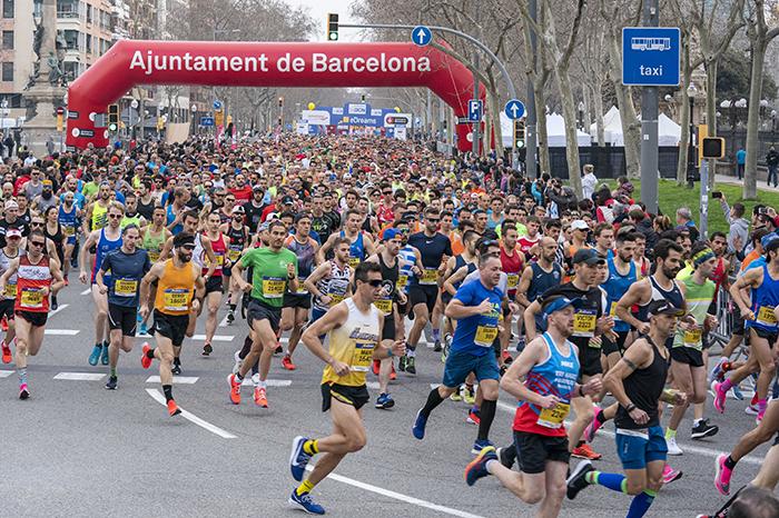 No será necesario el pasaporte Covid para correr en la Mitja y el Maratón de Barcelona