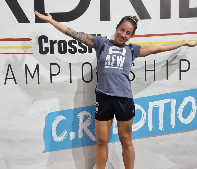 Sheila Alonso, del AFW Cross Team, se clasifica cuarta en el Madrid CrossFit