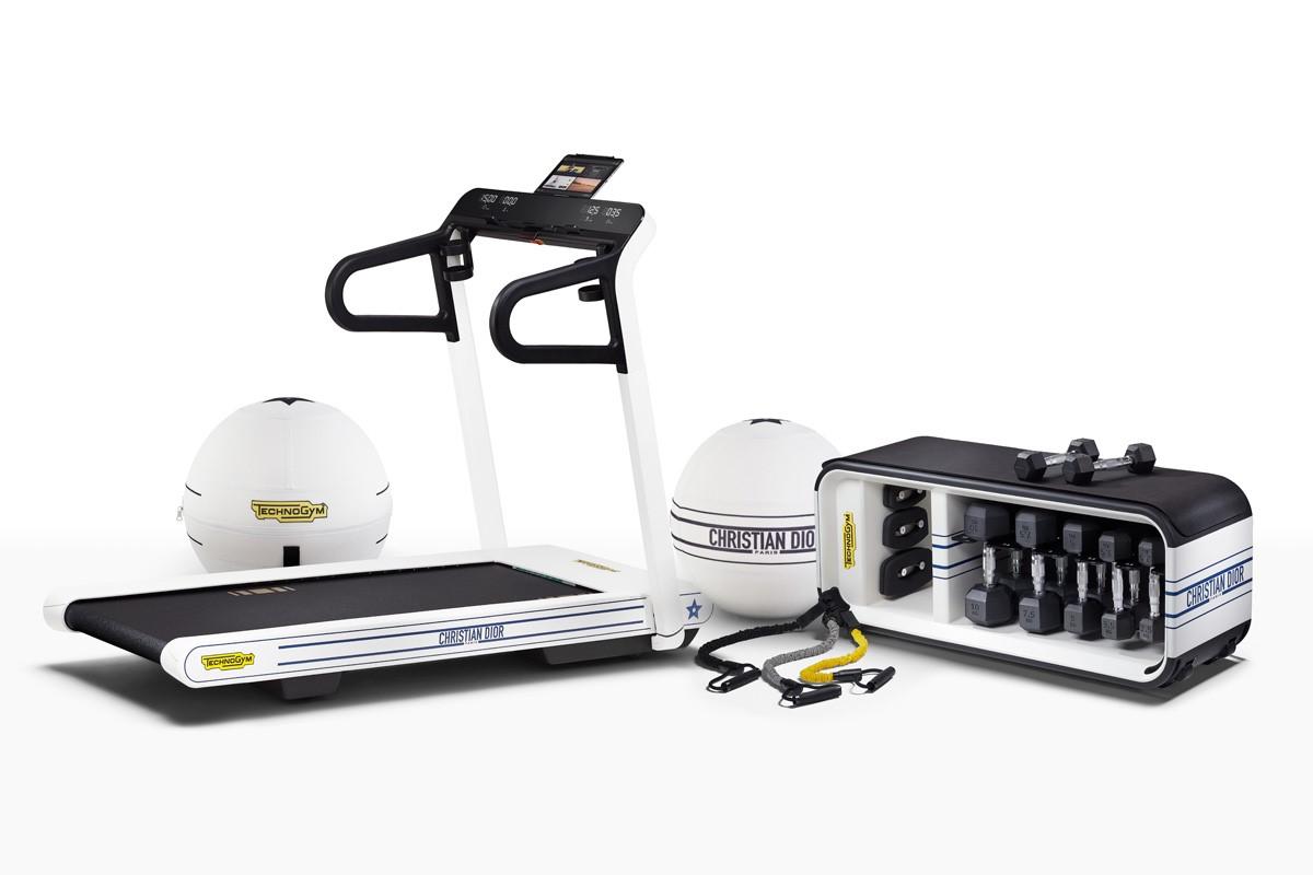 Technogym y Dior lanzan una colección fitness de edición limitada