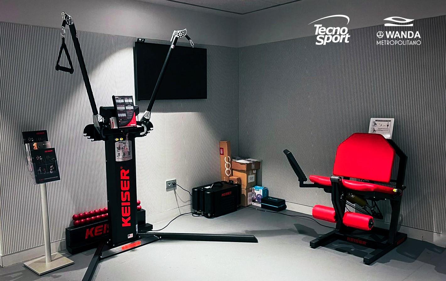 Tecno Sport presenta la tecnología neumática de Keiser en el Congreso Fisiofocus