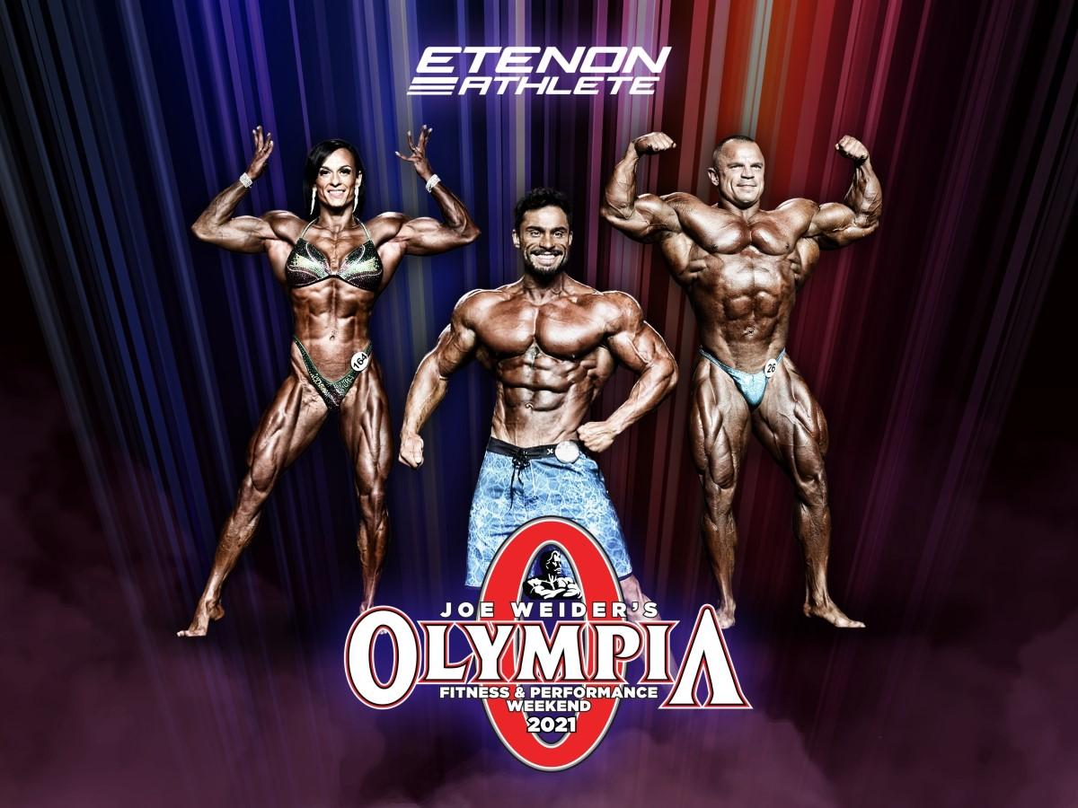 Tres Etenon Athletes competirán en la 57ª edición de Mr. Olympia