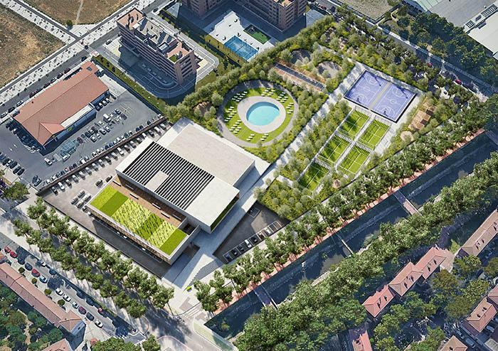 Viding construirá en Valladolid un centro deportivo de 20.000 m2
